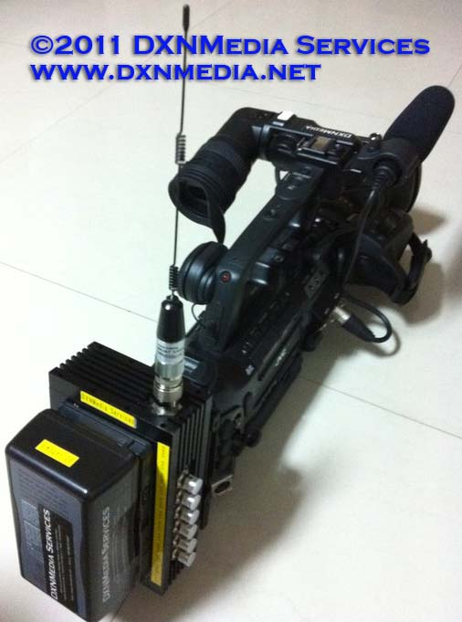 Wireless JVC GY-HM700 Cam